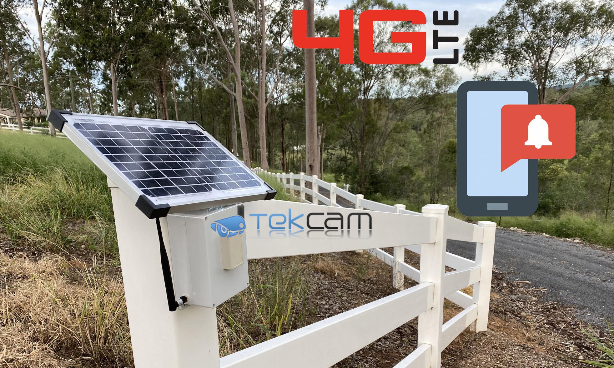 4g gate alarm driveway wireless alert